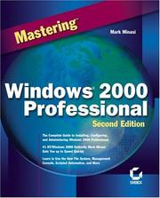 Cover of: Mastering Windows 2000 Professional