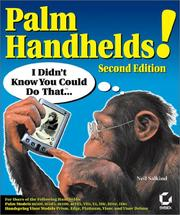 Cover of: Palm Handhelds! I Didn't Know You Could Do That..