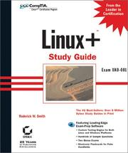 Cover of: Linux+ study guide: Exam XKO 001 (With CD-ROM)