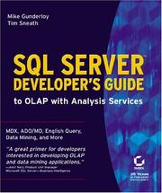 Cover of: SQL Server Developer