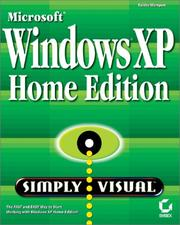 Cover of: Windows XP Home Simply Visual | Faithe Wempen