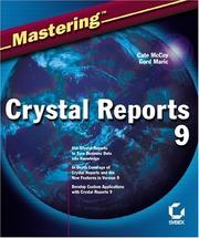 Cover of: Mastering Crystal Reports 9 | Cate McCoy