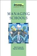 Cover of: Managing schools