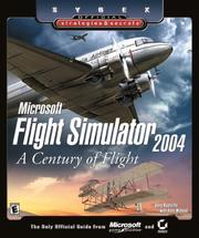 Cover of: Microsoft Flight Simulator 2004: A Century of Flight | Doug Radcliffe