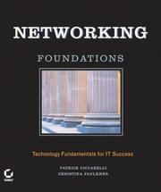 Cover of: Networking Foundations | Patrick Ciccarelli