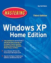 Cover of: Mastering Windows XP Home Edition