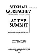 Cover of: At the summit