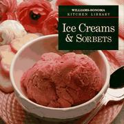 Cover of: Ice creams & sorbets