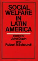 Cover of: Social Welfare in Latin America (Comparative Social Welfare Series)