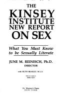 The Kinsey Institute new report on sex by June Machover Reinisch