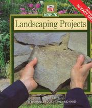 Cover of: Landscaping Projects