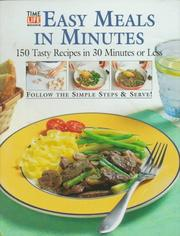 Cover of: Easy Meals in Minutes