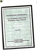 Cover of: Harvesting Oppression