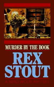 Cover of: Murder by the book