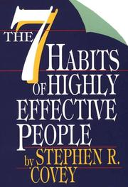 Cover of: The seven habits of highly effective people | Stephen R. Covey