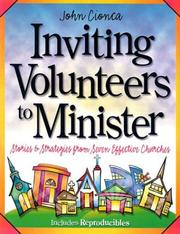Cover of: Inviting volunteers to minister