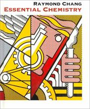 Cover of: Essential Chemistry: A Core Text for General Chemistry