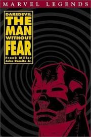 Cover of: Daredevil: The man without fear