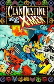 Cover of: The Clandestine Vs. the X-Men