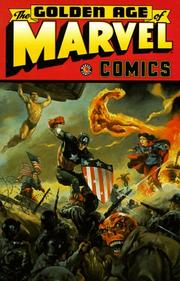Cover of: Golden Age Of Marvel Volume 1 TPB