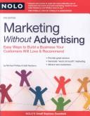 Cover of: Marketing without advertising