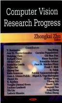 Cover of: Computer vision research progress |
