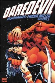 Cover of: Daredevil Visionaries - Frank Miller, Vol. 2 | Frank Miller