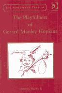 Cover of: playfulness of Gerard Manley Hopkins | Joseph J. Feeney