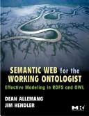 Cover of: Semantic web for the working ontologist