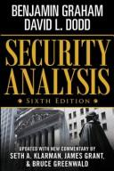 Cover of: Security analysis: principles and technique