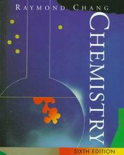 Cover of: Chemistry | Raymond Chang