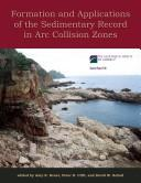 Cover of: Formation and applications of the sedimentary record in arc collision zones