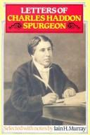 Cover of: Letters of Charles Haddon Spurgeon