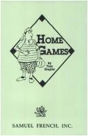 Cover of: Home games