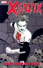 Cover of: X-Statix, Vol. 3: Back from the Dead