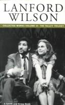 Cover of: Lanford Wilson: Collected Plays, Volume 3