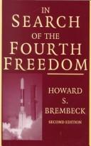 Cover of: In search of the fourth freedom | Howard S Brembeck