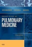 Cover of: Principles of pulmonary medicine | Steven E. Weinberger