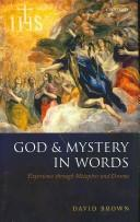 Cover of: God and mystery in words