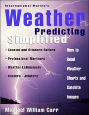 Cover of: International Marine's weather predicting simplified