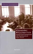 Cover of: Alexander Mitscherlich