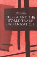Cover of: Russia and the World Trade Organization
