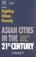 Cover of: Fighting urban poverty