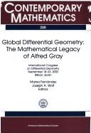 Cover of: Global differential geometry