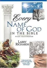 Cover of: Every name of God in the Bible