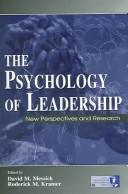 Cover of: The psychology of leadership |