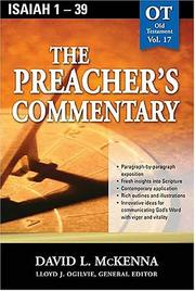 Cover of: The Preacher's Commentary, Vol. 17