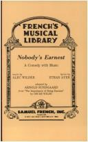 Cover of: Nobody's earnest