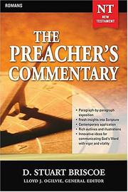Cover of: The Preacher's Commentary | Stuart D. Briscoe, Lloyd John Ogilvie
