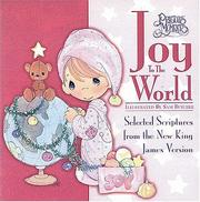 Cover of: Precious Moments, Seasons Of Faith Series, Joy To The World